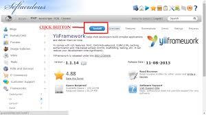 membuat web yii how to installing yii framework in cpanel via softaculous