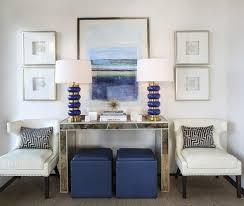 Best Black White And Blue All Over Images On Pinterest Blue - Black and white family room