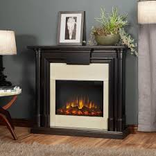 real flame silverton 48 in electric fireplace in black g8600e b