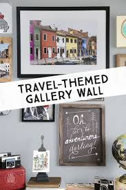 61 best diy travel inspired crafts travel themed home decor travel themed gallery wall