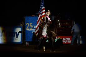 Horse With American Flag Miss Rodeo America Aqha Horses Of The Year