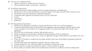 design criteria questions solved there are two evaluation criteria 1 highest compr