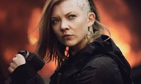 who is the blonde in the game of heroes commercial hunger games star natalie dormer i would have shaved my whole head