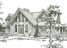 Spanish Home Plans Spanish Fork Log Home Plans