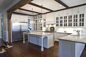 built in stove oven country farmhouse kitchen designs black slated