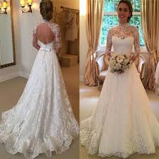 lace wedding gown 25 best aline wedding dresses ideas on chiffon