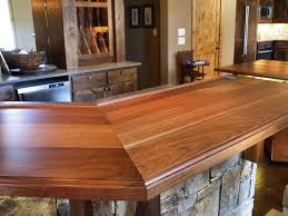 slab walnut wood countertop photo gallery by devos custom woodworking