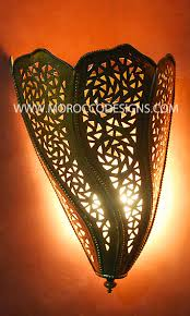 Moroccan Wall Sconce Moroccan Wall Sconces
