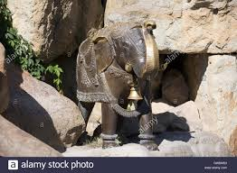 elephant statue in prague zoo which is the fourth largest zoo in