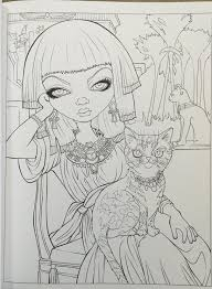 amazon com jasmine becket griffith coloring book a fantasy art