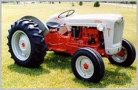identifying old ford tractors