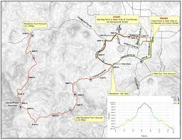 Boston Marathon Route Map by Best Half Marathons In Arizona Runner U0027s Review Arizona U0027s Top Races