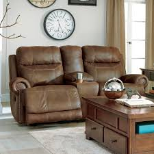 austere power reclining sofa ashley austere power reclining console loveseat sofas couches