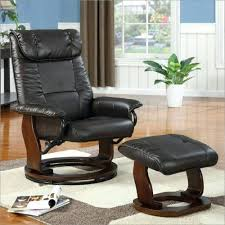 ottoman reclining swivel chair with ottoman nz image of leather