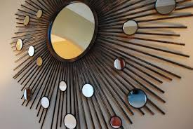Home Decoration Enchanting Round Wall Mirrors With Decorative