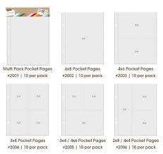 6x8 page protectors sn p pocket pages simple stories