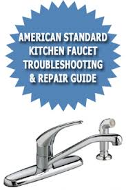 American Standard Single Handle Kitchen Faucet American Standard Faucet White Finger