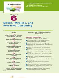 mis chapter 06 mobile wireless and pervasive computing