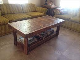 handmade coffee table diy pallet handmade coffee table pallet furniture plans