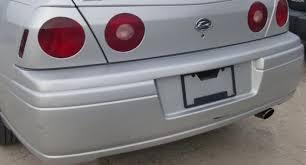 2004 Silverado Tail Lights Impala Tail Light Trunk Center Body Color Black U0026 Silver Ss 2000