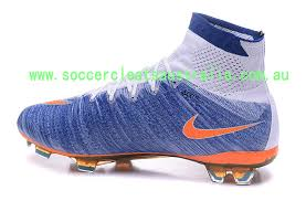 nike womens soccer superflys blue bright mango boots leaked