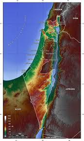 Map Israel Map Of Israel Topographic Map Worldofmaps Net Online Maps