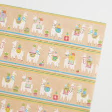 llama wrapping paper wrapping paper gift wrap rolls world market