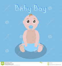 Baby Shower Invitations Cards Designs Baby Shower Boy Vector Invitation Card Design With Cute Cartoon