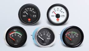 voltmeter by type instruments displays and clusters vdo