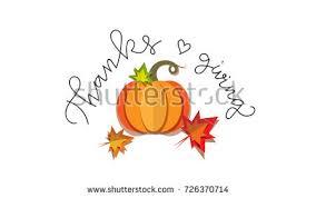 happy thanksgiving day elements set pumpkin stock vector 342357467