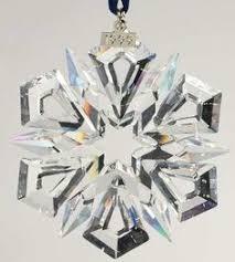 swarovski 2012 annual edition snowflake ornament for the