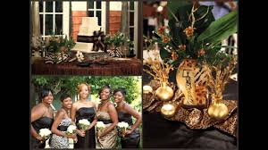African Themed Home Decor by African Themed Wedding Decorations Ideas Youtube