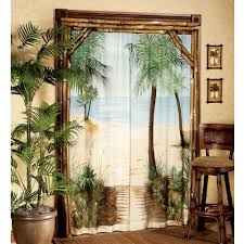 Tropical Beach Shower Curtains by Blinds U0026 Curtains Outhouses Bathroom Decor Outhouse Shower