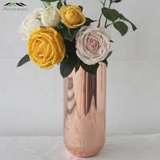 Cheap Gold Centerpieces by Online Get Cheap Gold Vases For Centerpieces Aliexpress Com