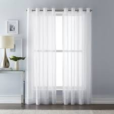 White Window Curtains Buy White Window Curtains Drapes From Bed Bath Beyond