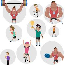 introducing animated sports characters with over 100 animations
