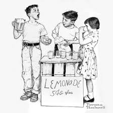 all sizes lemonade stand norman rockwell flickr photo sharing