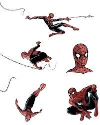 spiderman sketches 1 by ullcer on deviantart
