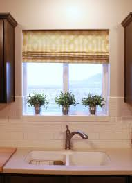modern kitchen roman shades on kitchen window roman shades fabric
