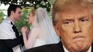 chelsea clinton wedding dress when donald tried to crash chelsea clinton s wedding