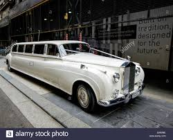 rolls royce white phantom luxury stretch limousine a stretched rolls royce phantom used as