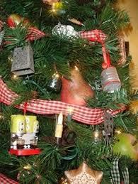 oven mitt ornament kitchen tree ornament