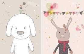 poster für kinderzimmer illustrationen für s kinderzimmer sanvie mini