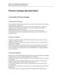 Cnc Programmer Job Description Cover Letter For Finance Manager Image Collections Cover Letter