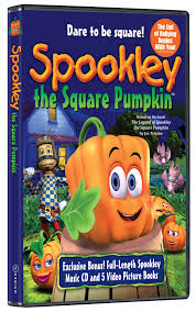 halloween music cd spookley the square pumpkin holiday cinedigm entertainment