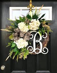 pictures wreaths front door fall artificial wreath