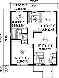 split level house plan split level house plan with tour 80355pm architectural