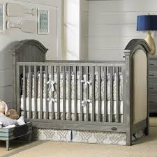 Convertible Crib Sets by Nursery Decors U0026 Furnitures Crib With Upholstered Headboard In