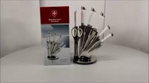 royalty line knife set 8pcs rl kss806 youtube