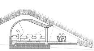 frank lloyd wright u0027s fallingwater to get underground eco cottages